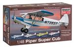 Piper Super Cub w 4 marking options 1/48