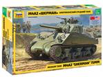 Medium tank M4A2 Sherman 75mm 1/35